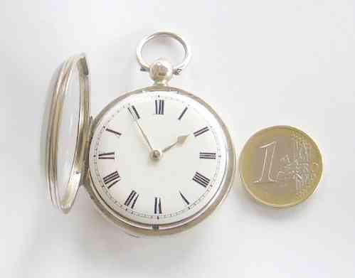 Rare, Very Small Fusee Pocket Watch, from 1846.