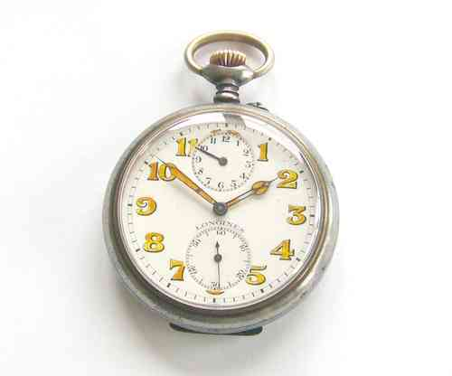 Private ------ Very Rare Longines With Alarm Function, ca 1920.