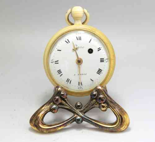 Ivory case Pocket Watch, Vasse a Paris, Mason from the Lodge Les Amis Intime.